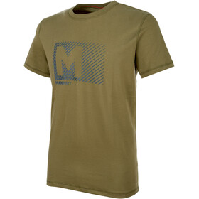 Mammut Massone t-shirt Heren olijf
